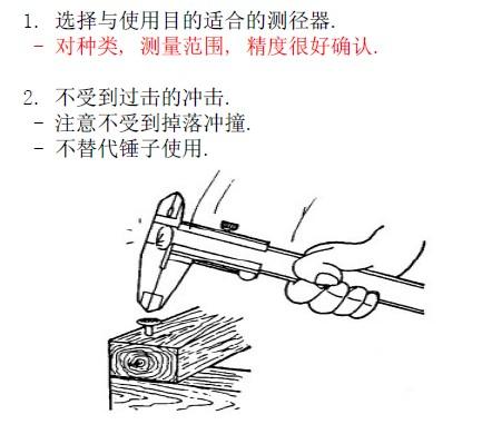 游标卡尺测径器